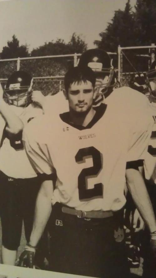 Coach V back in the day. (Allison Roethle photo).
