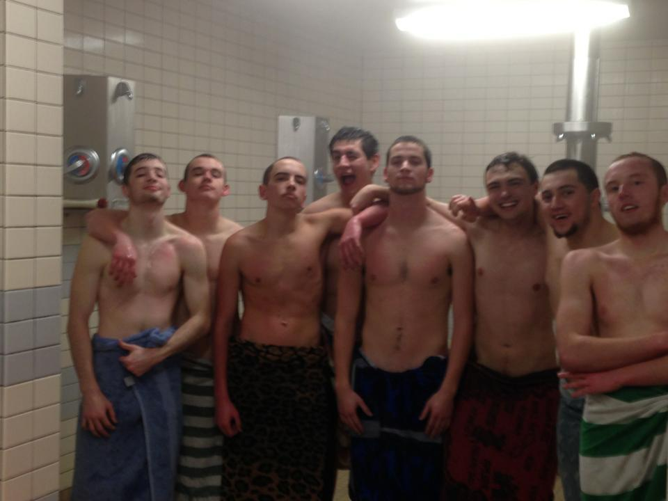 naked boys shower at school