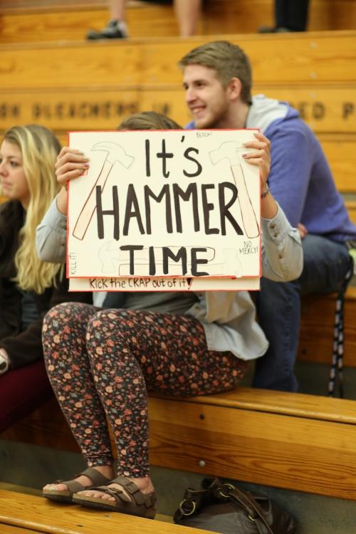 The Hailey Hammer fan club.