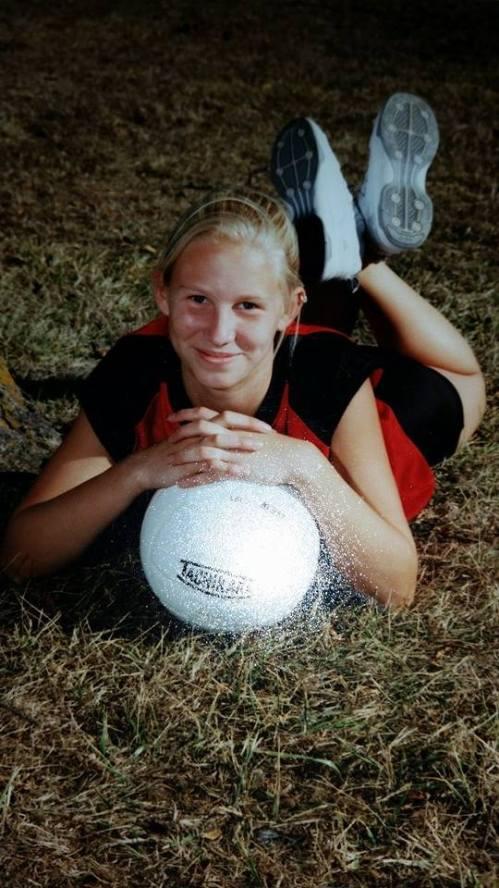 Corinne Gaddis, the early years. (Photo courtesy Ellen Christensen)