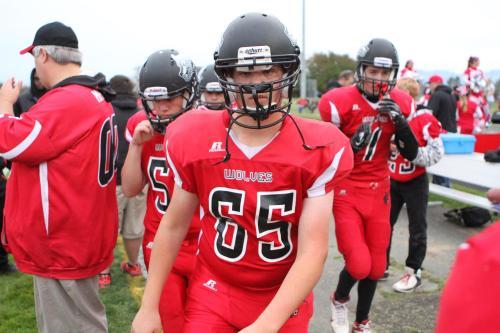 Freshman James Vidoni (65)
