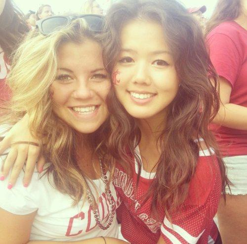 Haley Marx (left)