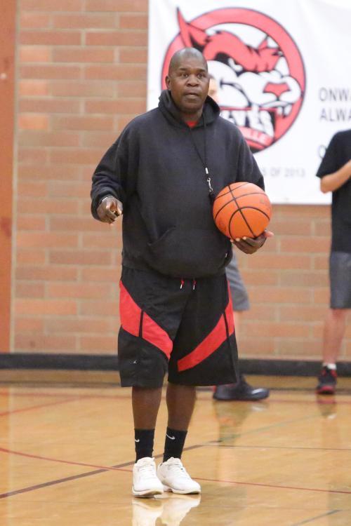 Coaches like Wolf boys' hoops guru Anthony Smith (John Fisken photo)