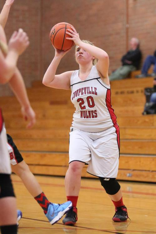 """Tiffany Briscoe had her """"best offensive game of the season"""