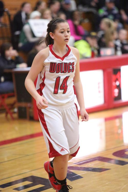 McKenzie Bailey will be one of four returning varsity players in 2015-2016.