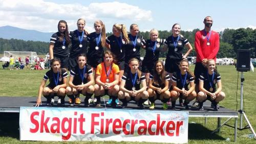 The best girls under 16 team in all the land.