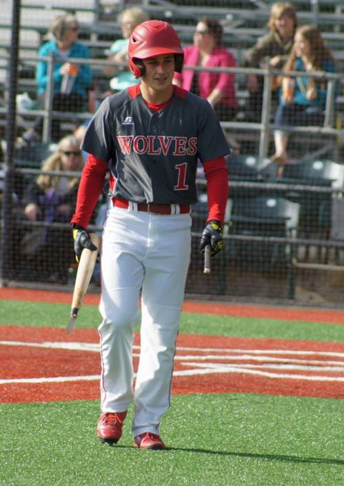 Kyle Bodamer, breaking bats (and hearts) wherever he goes. (Shelli Trumbull photos)