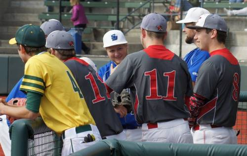 South Whidbey's Trent Fallon (middle)