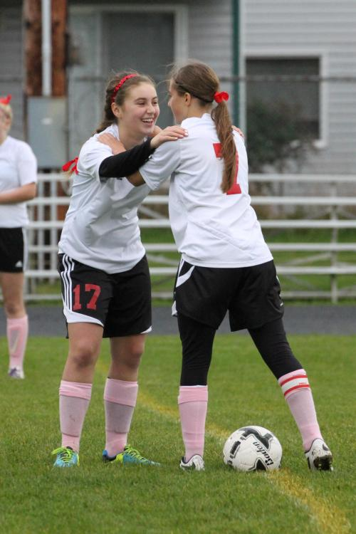 Bree Daigneault (left) will be a captain this season.