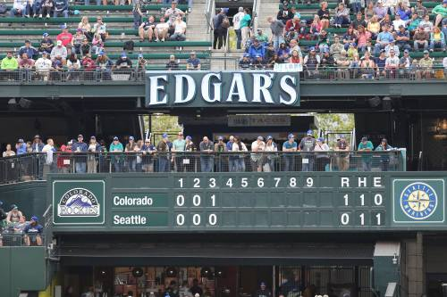 The legacy of arguably the greatest Mariner of all time stands proud at Safeco.
