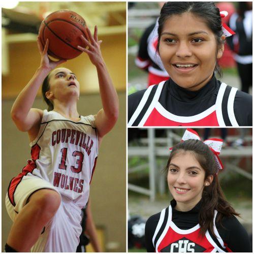 One birthday, three transcendent stars. CHS supernovas (clockwise, from left) Mattea Miller, Arisbeth Montiel, Julia Borges. (John Fisken photos)