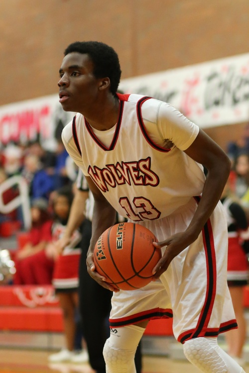 Dante Mitchell was one of nine Wolves to score Friday in a 66-60 win over Concrete. (John Fisken photo)