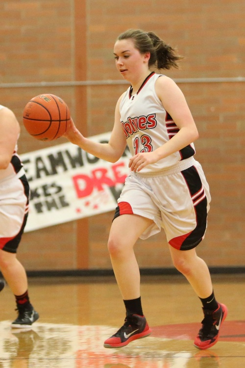 Maddy Hilkey had eight points, three blocks and two rebounds in a win Tuesday. (John Fisken photo)
