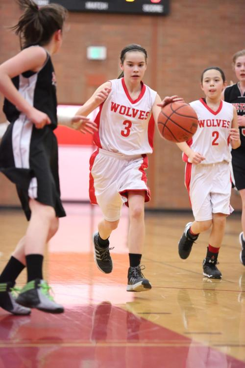 Current 8th graders like Maya Toomey-Stout (3) and Scout Smith (2)