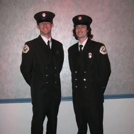 Fire Gods Jerry (left) and Matt Helm.