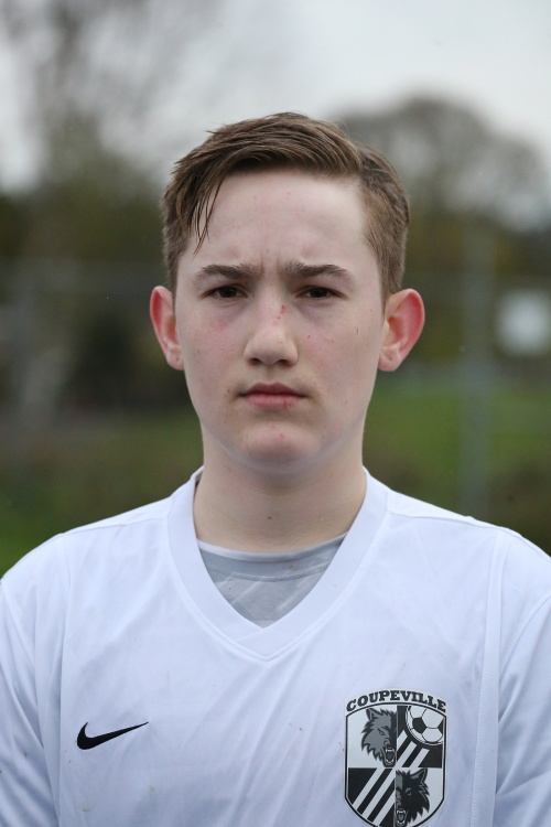 Ethan Spark banged home four goals Saturday -- all before halftime -- in an 11-4 Coupeville win. (John Fisken photo)