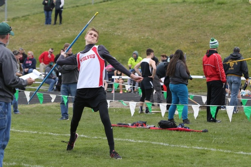 Ariah Bepler set PRs in the javelin, discus and hurdles Thursday.