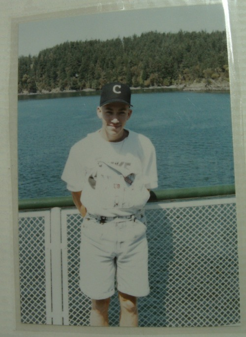 Jason McFadyen, back in his homer-hittin' CHS baseball days. (Photos courtesy the Carmen McFadyen Archives)