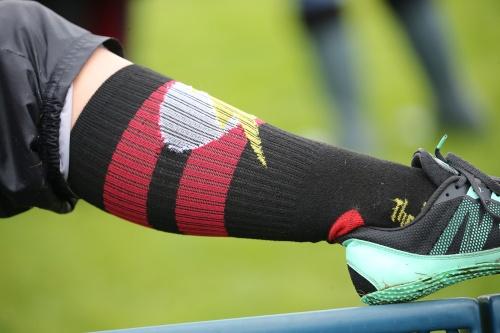 Mckenzie Meyer's super-powered socks.