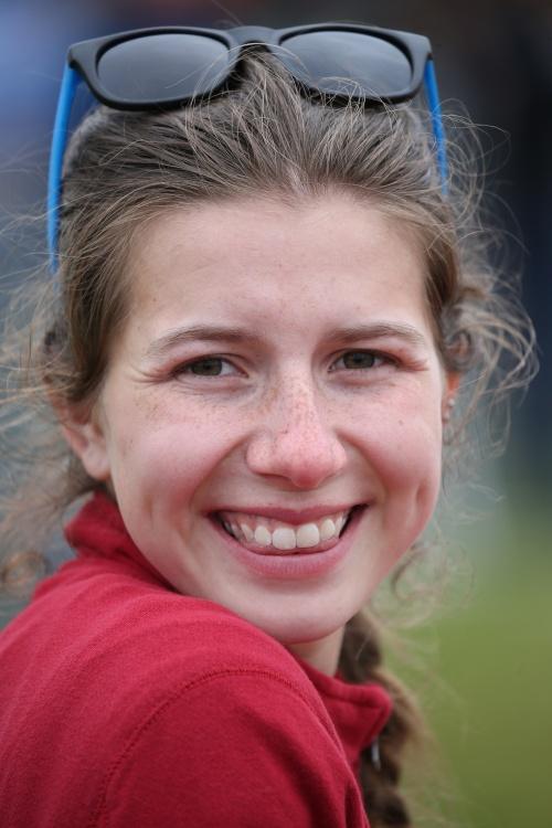 Senior Sylvia Hurlbuet won four state meet medals in four seasons. (Fisken photo)