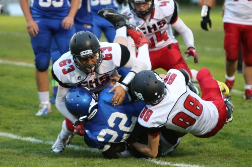 Uriel Liquidano (63) and Co. will play for The Bucket at home Sept. 2.