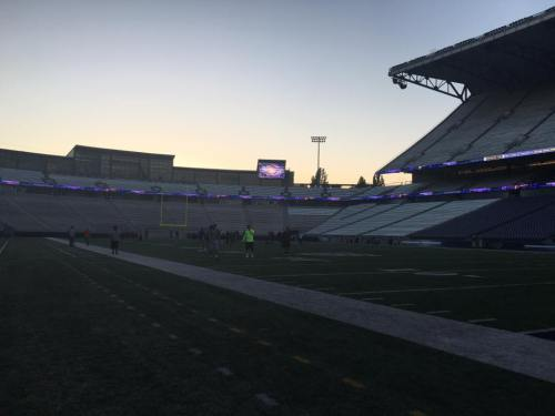Husky Stadium, where dreams are made.