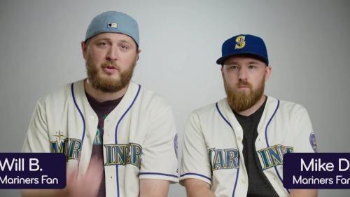 Will Butela (left) and Mike Duke? Legendary.