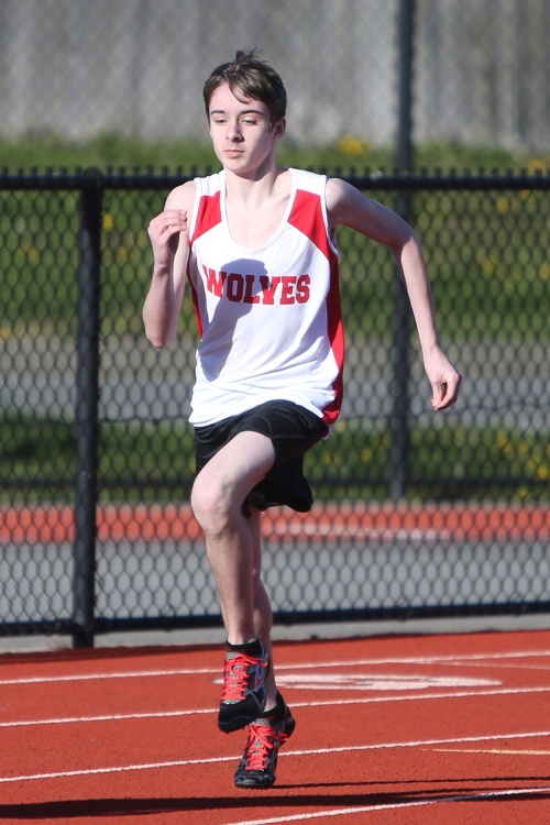 Coupeville High School sophomore Danny Conlisk will compete in cross country this fall, training and traveling with South Whidbey while competing as a Wolf. (John Fisken photo)
