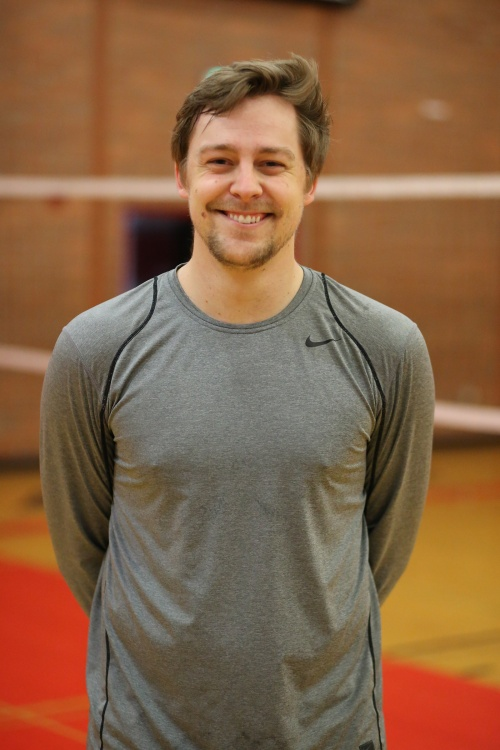 After working as an assistant at Oak Harbor High School, Cory Whitmore has taken over the Coupeville volleyball program. (John Fisken photos)