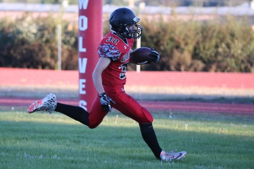 Jacob Martin rambled for 129 yards in week one, most by any player from the Olympic/Nisqually League.