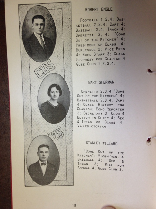 Mollie Bailey's great-grandfather headlined the nine graduates.