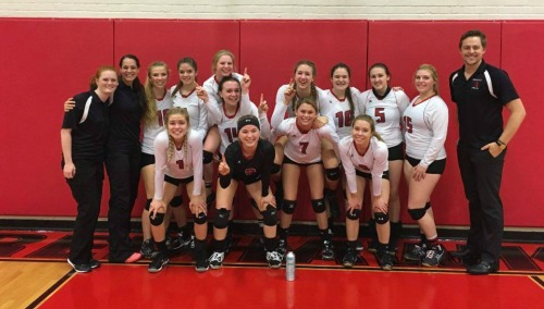 Your 2016 1A Olympic League volleyball champions. (Photo courtesy Konni Smith)
