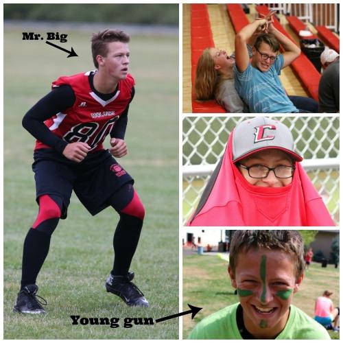 The transformation of Jacob Zettle. (John Fisken photos)