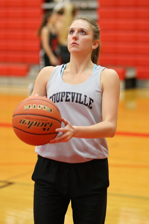 Lauren Grove is one of four seniors on the CHS girls' hoops squad. (John Fisken photos)