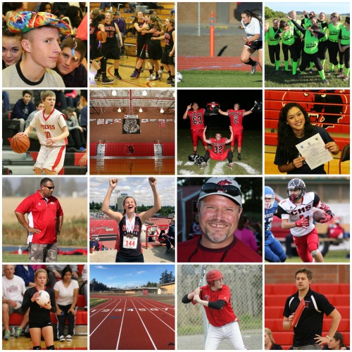 Some of the people and events which shaped Coupeville Sports in 2016. (John Fisken photos)
