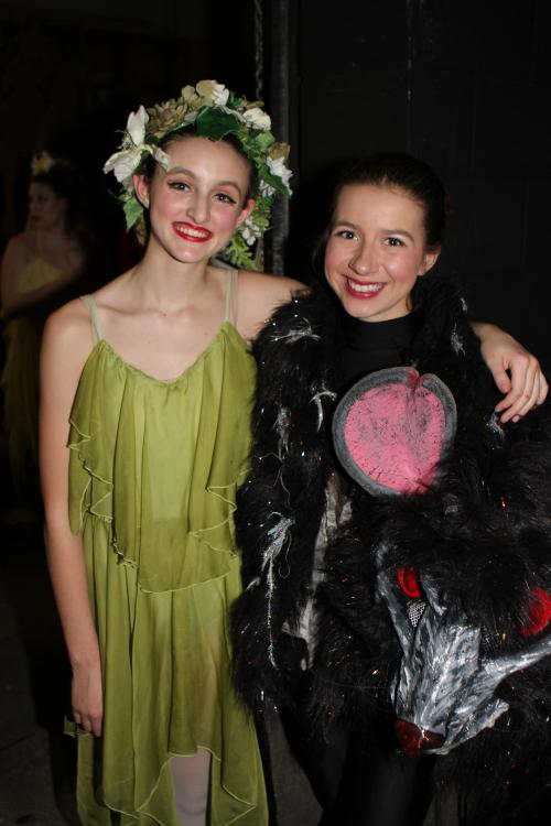 "Skyy Lippo (left), seen here with Sylvia Hurlburt last year, will be dancing as the Rat Queen in this year's ""Nutcracker."" (John Fisken photo)"