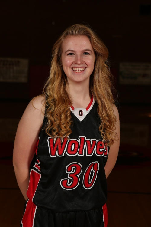 Freshman Hannah Davidson knocked down a game-high 15 in a Wolf JV road win Saturday. (John Fisken photo)
