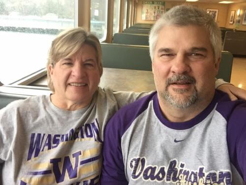 Amy and David King
