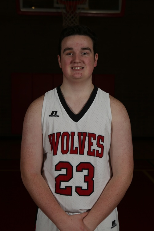 Kyle Rockwell was one of seven Wolves to score in Friday night's JV game. (John Fisken photo)