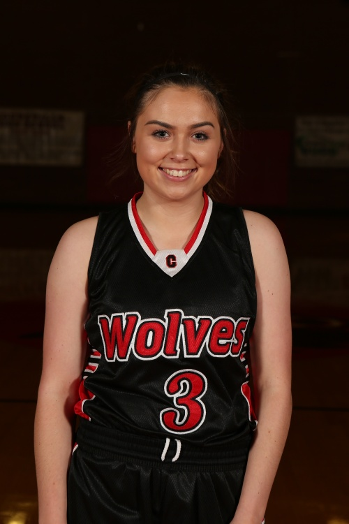 Maddy Hilkey was one of nine Wolves to score Friday night. (John Fisken photo)