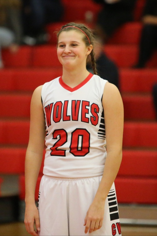 Lindsey Roberts and Coupeville are all smiles after winning their eighth straight game. (John Fisken photo)