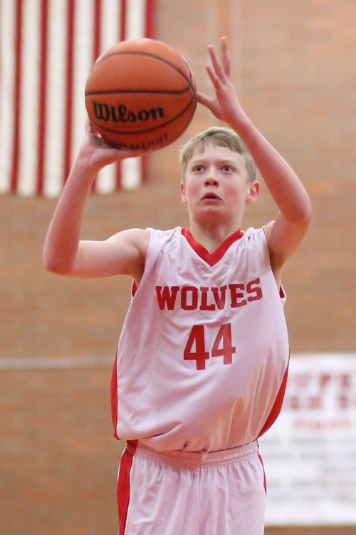 Daniel Olson knocked down a season-high 27 Thursday to spark Coupeville to a rout of Chimacum. (John Fisken photo)