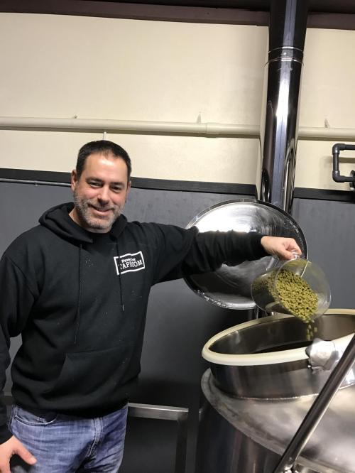 Marc Aparicio (Photos courtesy Penn Cove Tap Room)