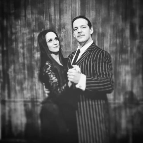 Castaneda as Gomez in The Addams Family. (Katie Woodzick photo)